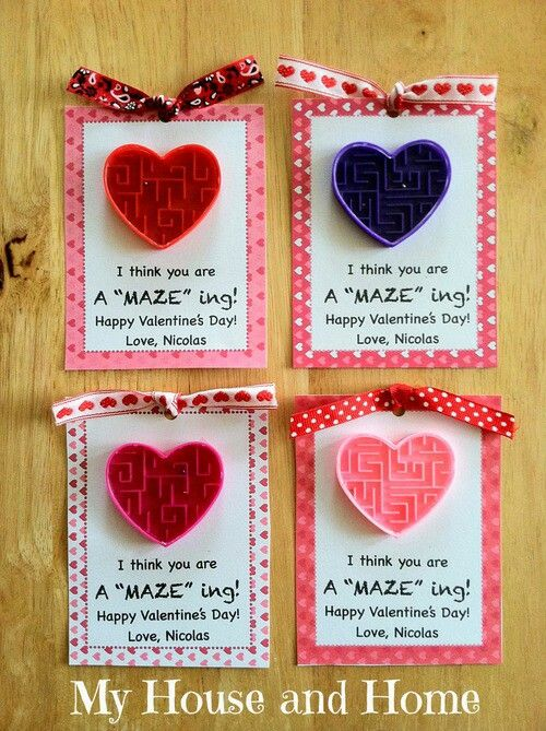 A Maze Ing Valentine Cards Create And Print Phrase On