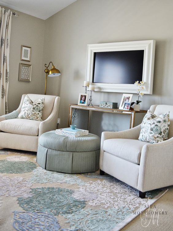 Love This Sitting Area In A Master Bedroom Sita Montgomery Interiors Local Client