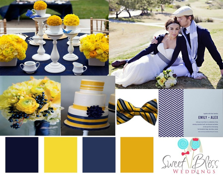 1000+ Images About Navy & Mustard Yellow Wedding Colours