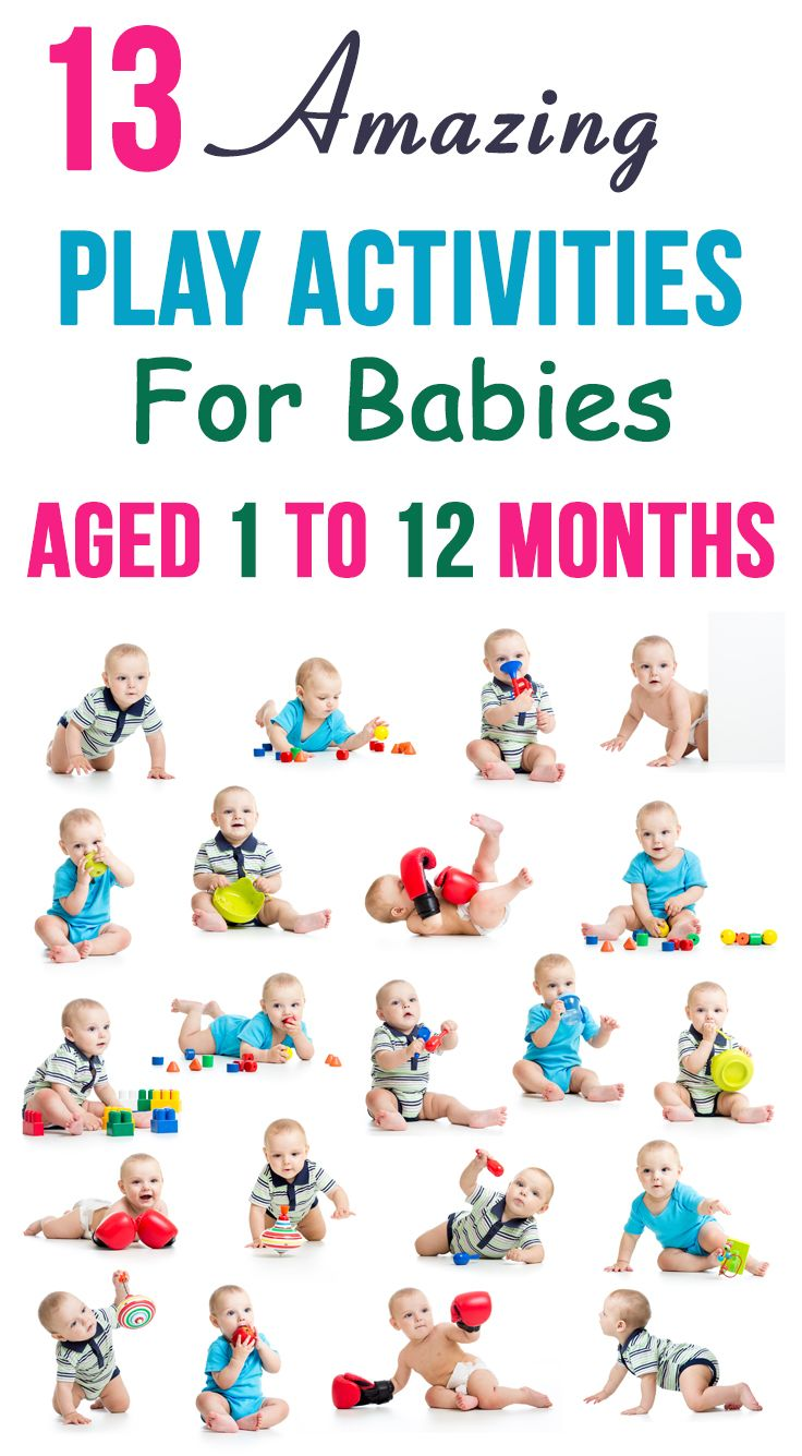 13 Amazing Play Activities For Babies Aged 1 To 12 Months: the following activities will also help enhance your baby's fine