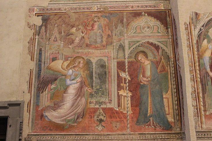 Spinello Aretino Annunciazione Affresco Arezzo