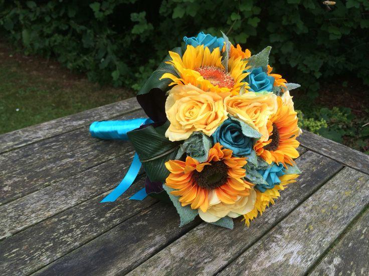 25+ Best Ideas About Teal Wedding Bouquet On Pinterest