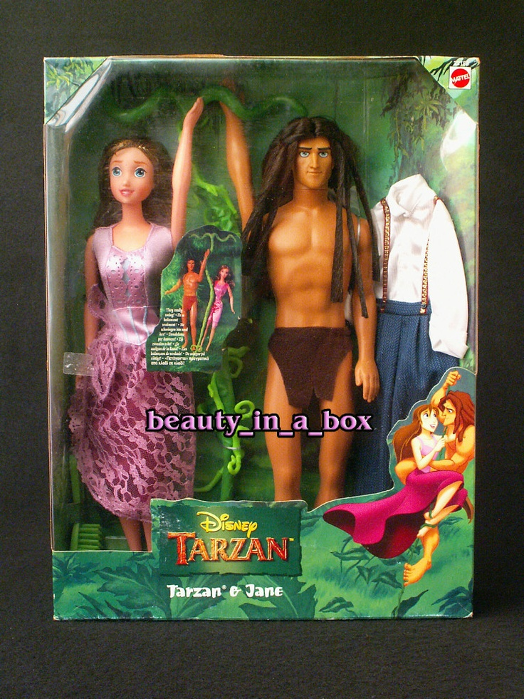 Tarzan And Jane Doll Disney Foreign Version Gift Set Barbie Fashions EBay Cool I Have A Jane