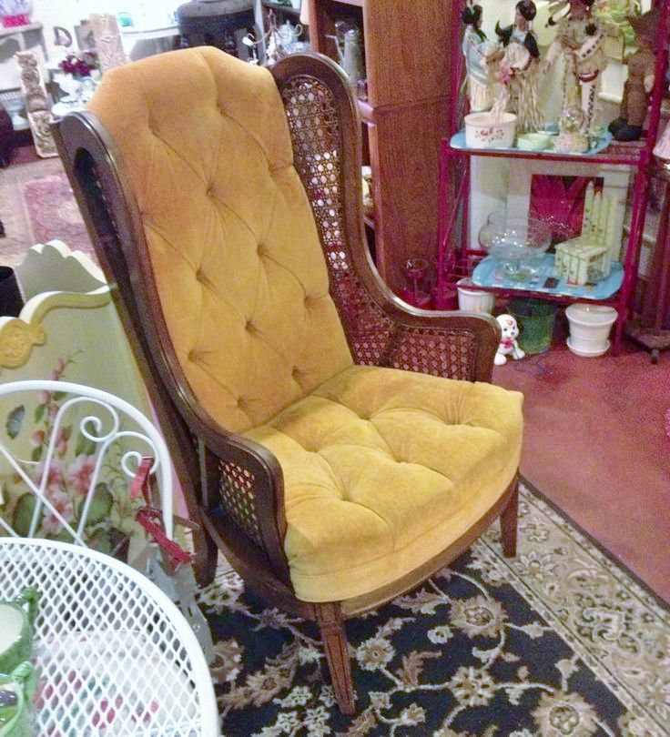 Vintage 1960s Chair Lewittes Wing Back Chair Mid