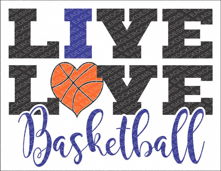 Download Love Love Basketball SVG, DXF, EPS Cut File for Cameo and ...