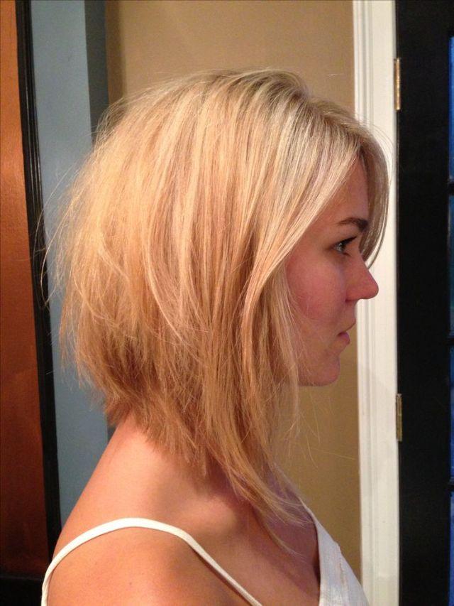 Cute long  bob  haircut  Hairspiration Pinterest Bobs