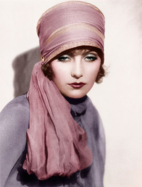 Greta Garbo – Yes, I would wear this vintage hat right now!  Some things need to be brought back to life!