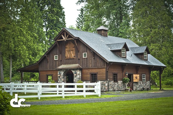 Now This Could Be A Really Awesome House! Delaware Barn Builders – DC Builders