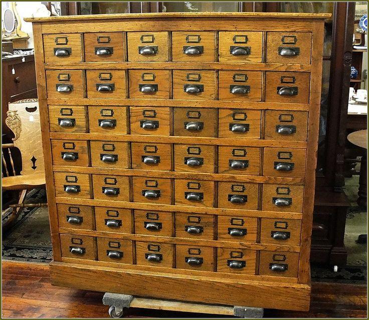 Antique library card catalog home design ideas