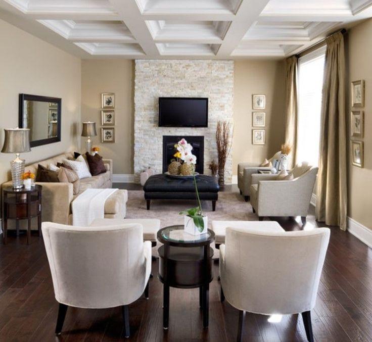 Rectangular Living Room Layout
