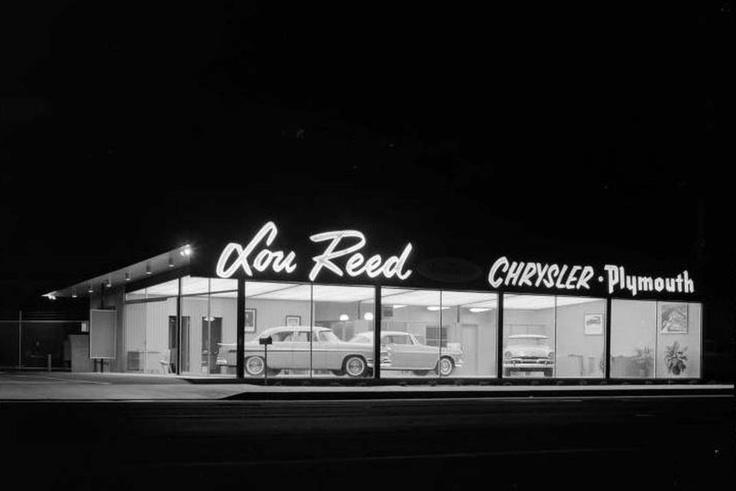 Joseph fadler lou reed chrysler plymouth dealer 1955