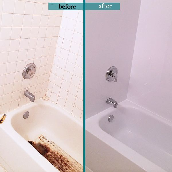 Great Work From Our Installer Chris Bath Fitter Before