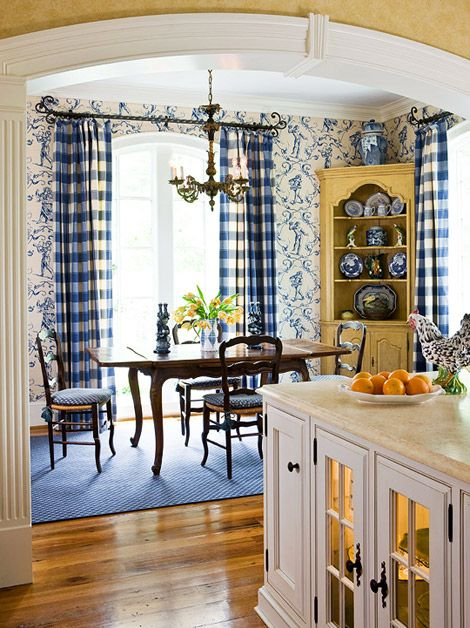 French Country Kitchen ABSOLUTELY LOVE THIS Blue