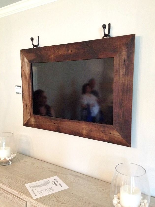 12 TV in frame hung with dr