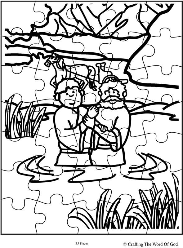 Philip And The Ethiopian Puzzle Coloring And Activity