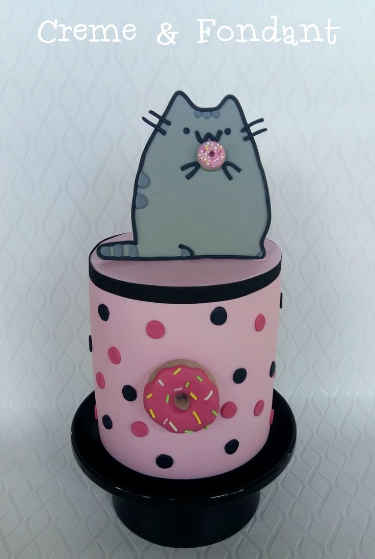 Pusheen The Cat Cake Omgawddd I Want This For My