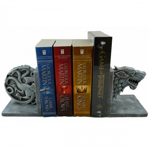 Game Of Thrones Stark And Targaryen Bookend Set This Would