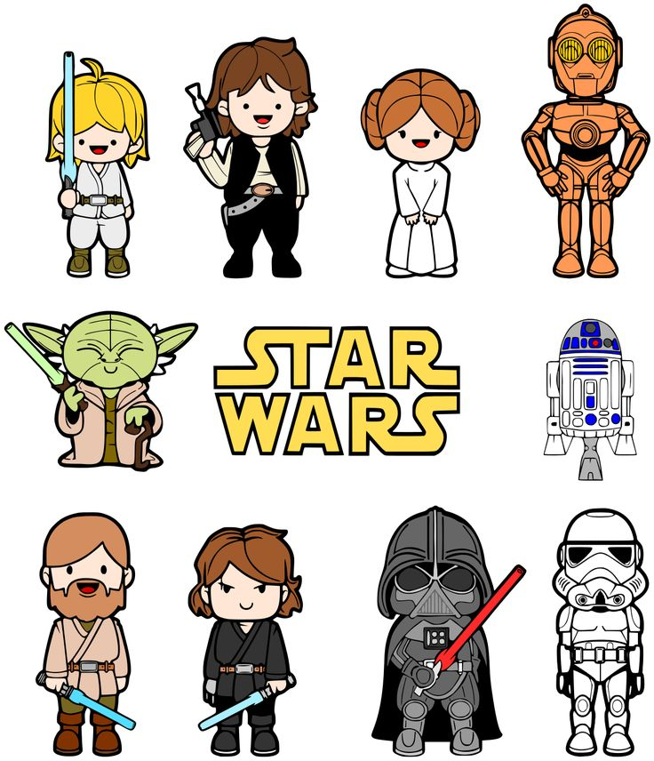 TheRetroInc on Etsy Star wars fan art, Clip art and Nooks