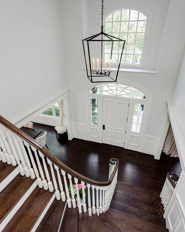 Extra large foyer lighting. frameless arched wall mirror beveled ...