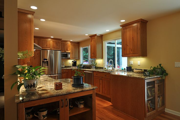 1970 Split Level Homes Remodeled Residential Kitchen