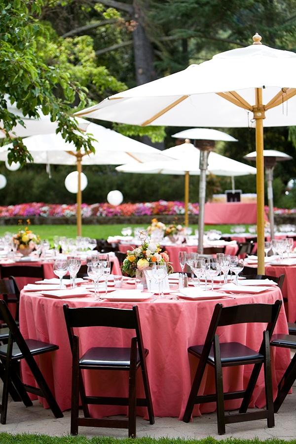 Outdoor Table Set Umbrella