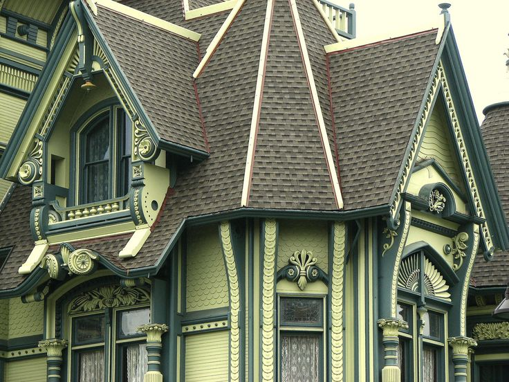 Victorian Detail Carson Mansion Eureka California