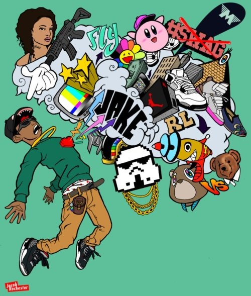 House Cartoon Dope Characters