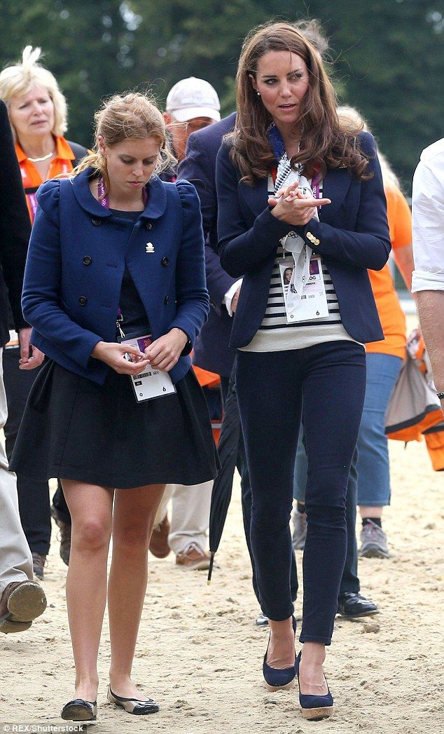 The Duchess of Cambridge's cold relationship with Beatrice