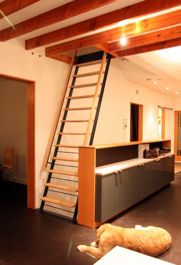 1000 Images About Loft Ladder Ideas On Pinterest Cabin