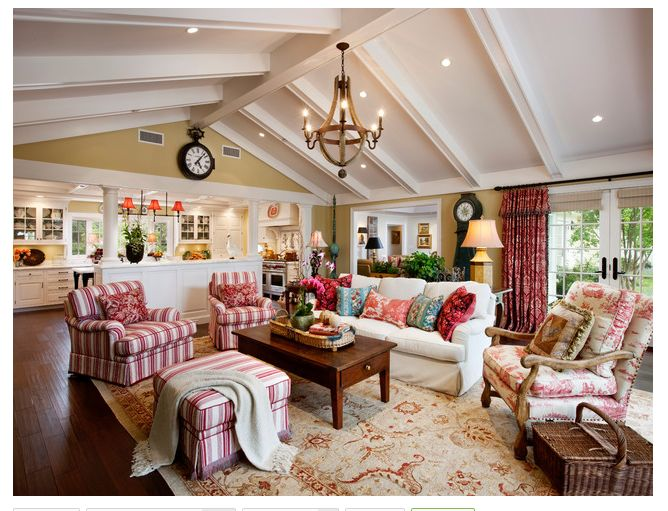 Family Room Ideas. Color Scheme Is Warm, Inviting But