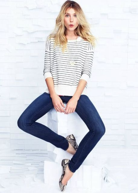 stripes & skinnies!