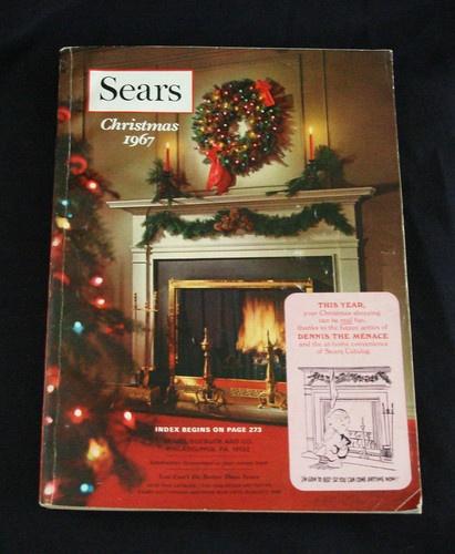Vintage 1967 Sears Roebuck Amp Company Christmas Catalog