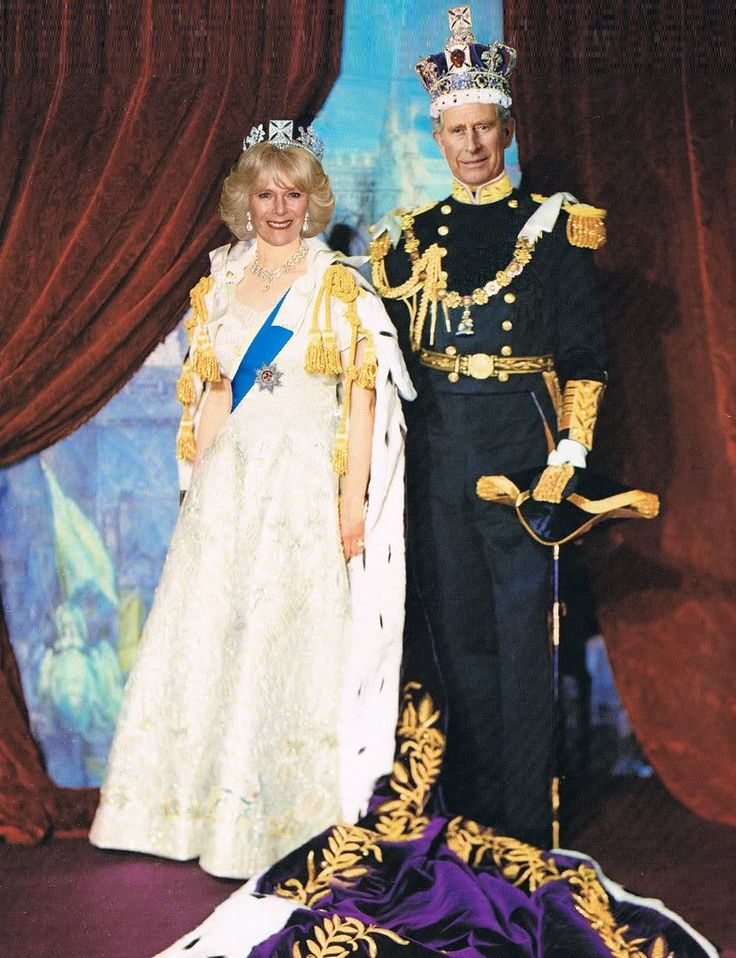 Duchess of Cornwall Camilla and Queen Elizabeth's son