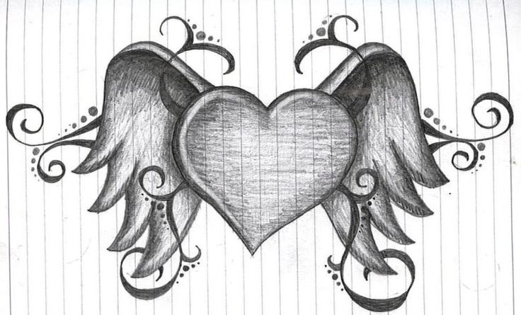 Heart With Wings By Amanda11404.deviantart.com On