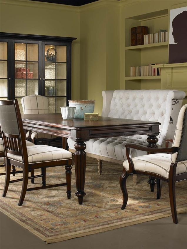 Dining Table With Upholstered Bench Google Search Maybe Like This Home Design Pinterest