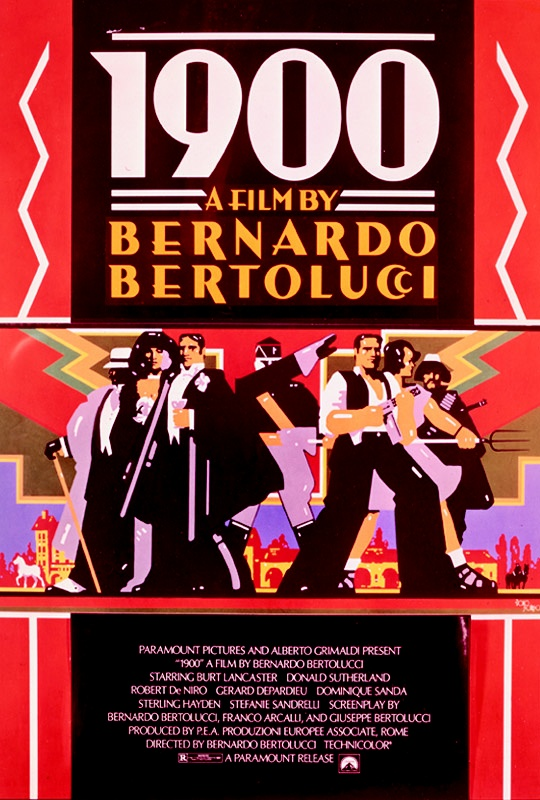 1900 Movie Poster 1976 Media Pinterest Movies Movie