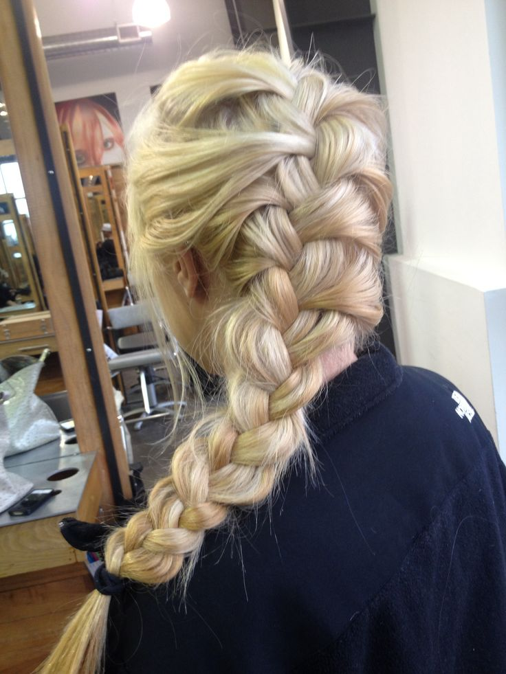 Loose French Braid Hair And Make Up Pinterest