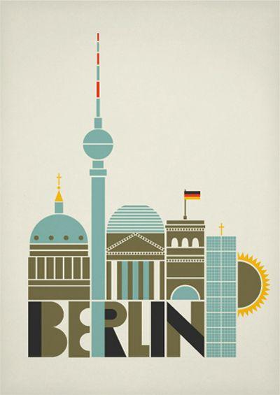 berlin art and design poste