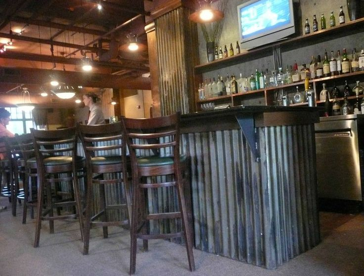 Corrugated Metal For Bar Front Cave Man Stuff For The