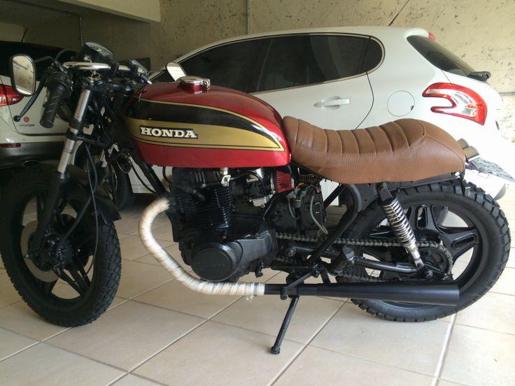 1978 Honda Cb400 Cafe Racer Seat 1stmotorxstyle Org