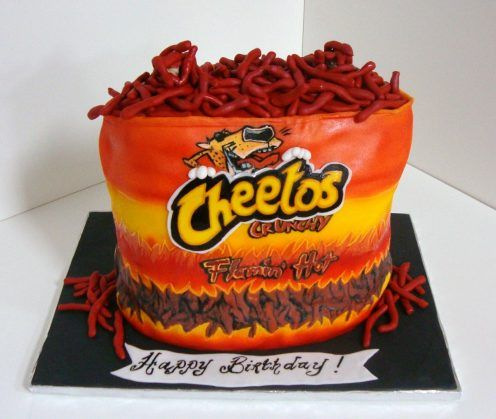 Cheetos Cake Tfb19 Cakes Pinterest Cakes And Cheetos