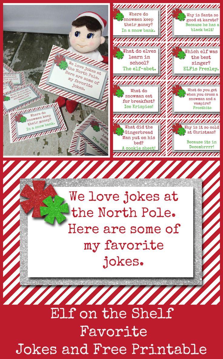 10 Easy Elf On The Shelf Ideas and a daily Printable Elf
