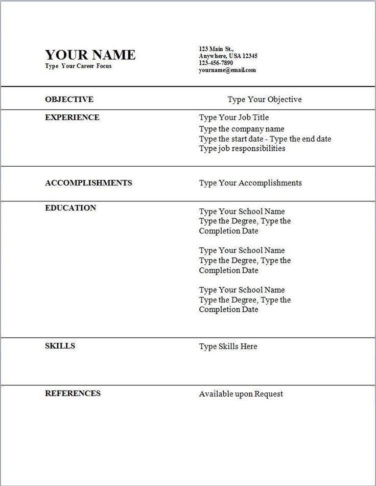 resume outline for students volumetrics co