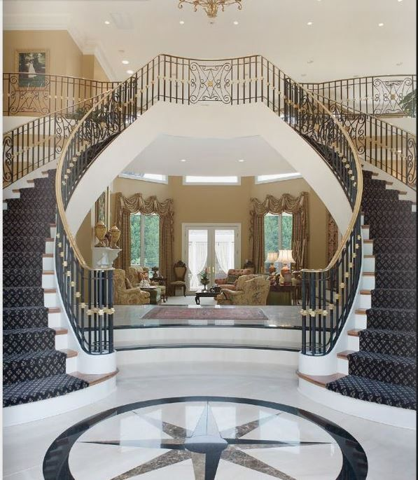 The Inlaid Marble Invites You Into A Magnificent Entrance