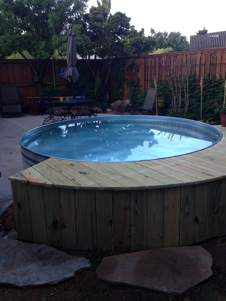 Stock tank pool For the Home Pinterest The o'jays