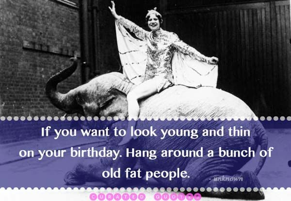Funny One Liner Birthday Wishes