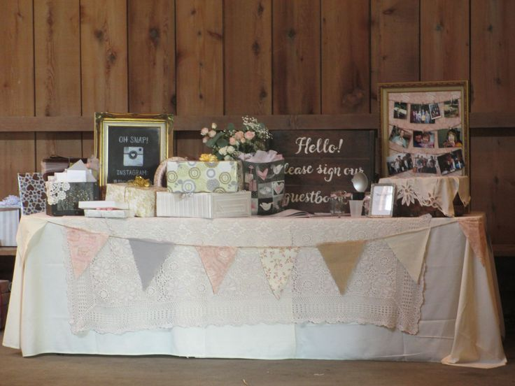 17 Best Images About Wedding Gift Table On Pinterest