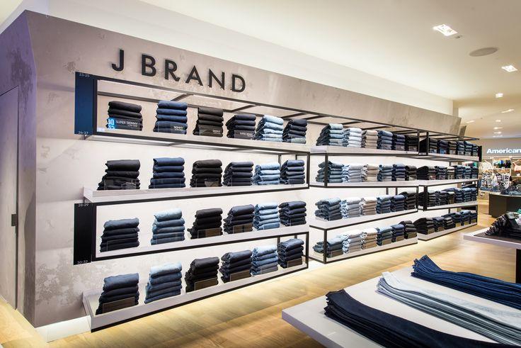 J BRAND Retail Interior Selfridges 2013 By Millington Associates Retail Store Design