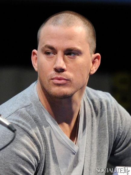 Comic Con Haywire Channing Tatum 2011 Panel Shaved Head