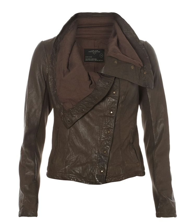 Great leather jacket from All Saints My Style Pinboard